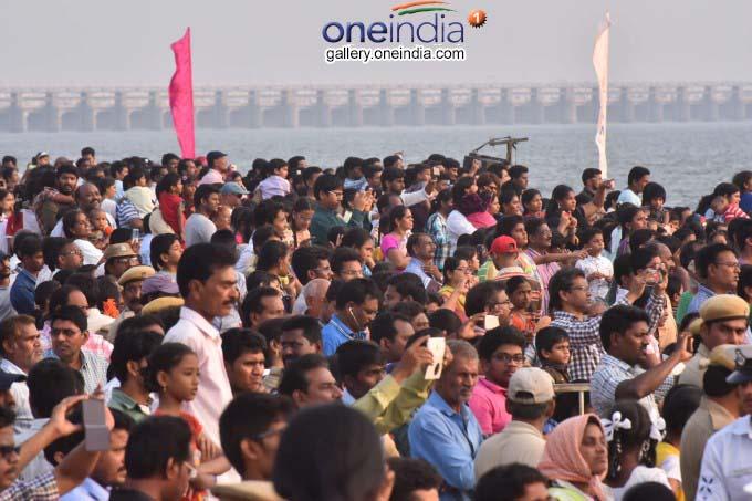 Navy Show At Punnami Ghat In Vijayawada