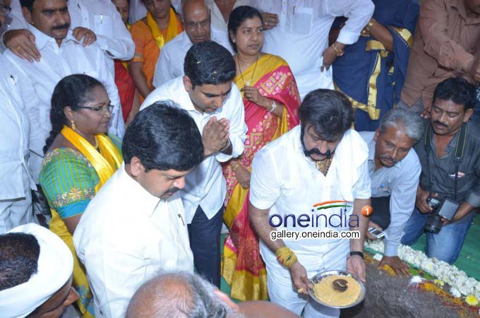 Nara Lokesh Laid Foundation Stone For Hospital At His Adopted Village Nimmakuru