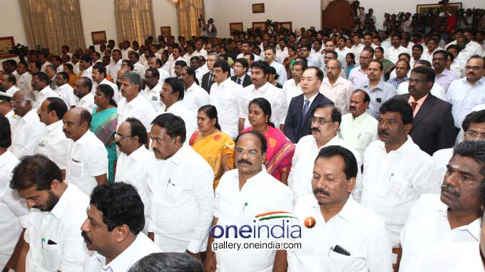 Photo Gallery: E Palaniswami Sworn In As Tamil Nadu Chief Minister