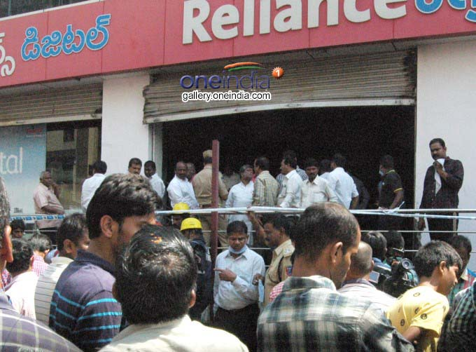 Fire Breaks Out At Reliance Digital Showroom In Kachiguga
