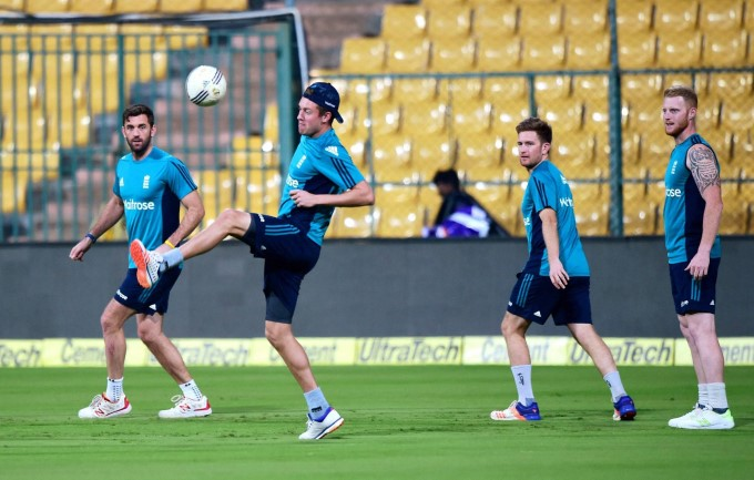 Cricket - England Tour Of India 2016-17