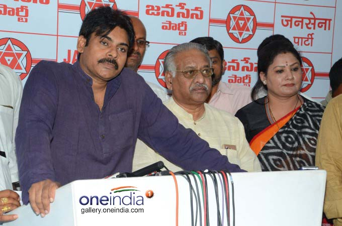 Jana Sena Chief Pawan Kalyan Press Meet On Handloom Workers Problems