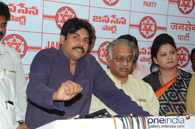 Jana Sena Chief Pawan Kalyan Press Meet on Handloom Workers Problems