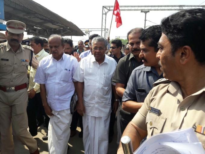 Kerala CM Pinarayi Vijayan attends Harmony Rally Mangaluru