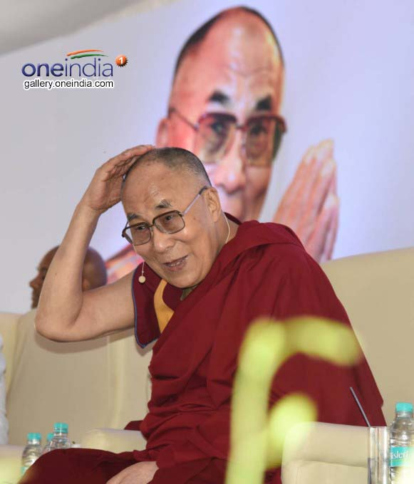 Photo Gallery: Dalai Lama During The Inauguration Of Center For Ethics
