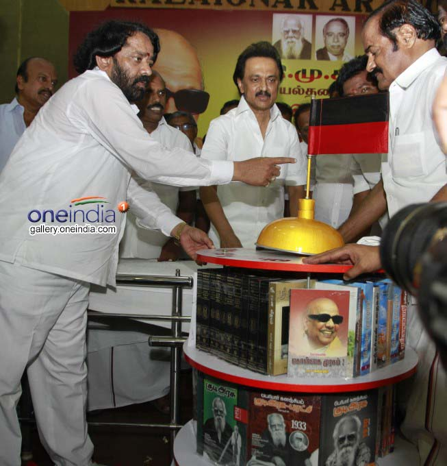 Photo Gallery: DMK Treasurer MK Stalin 65th Birthday Celebration