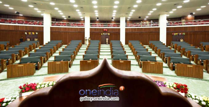 Andhra Pradesh New Assembly Building Inside View
