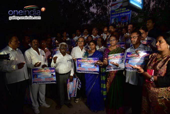 Walk Held In Memory Of Srinivas Kuchibhotla In Hyderabad