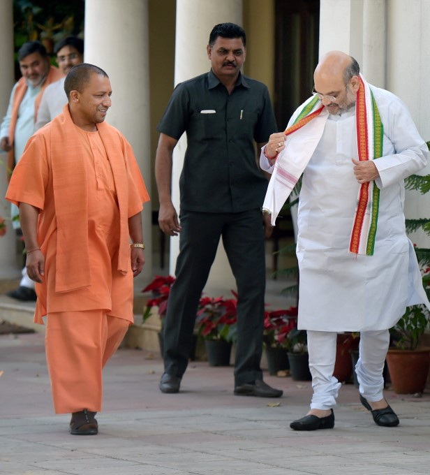 UP Chief Minister Yogi Adityanath Meets Senior BJP Leaders In New Delhi
