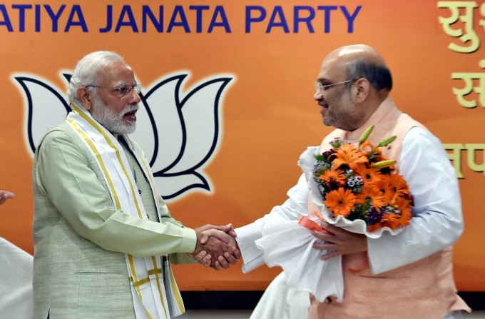 Photo Gallery: BJP Celebrates Big UP Win