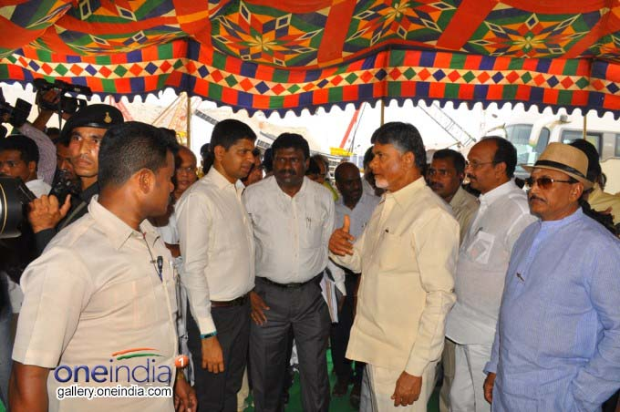 Photo Gallery: AP CM Chandrababu Naidu Visits Polavaram Project In West Godavari District