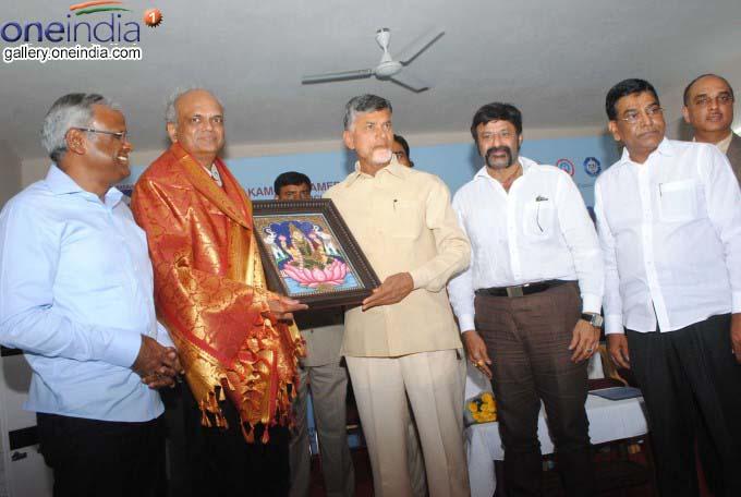 AP CM N Chandrababu Naidu Inaugurates Dormitory In Basavatarakam Hospital