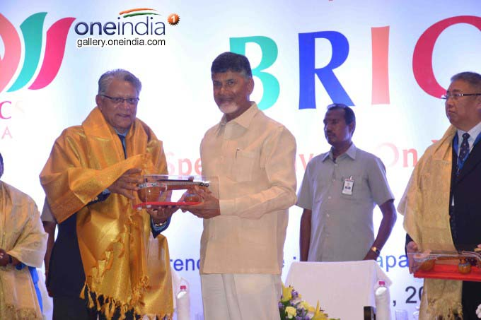 AP CM N Chandrababu Naidu Participates In BRICS Meeting At Visakhapatnam