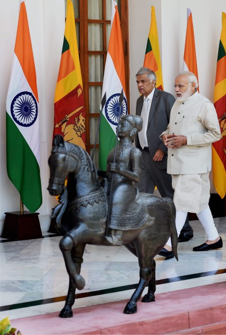 Sri Lankan PM Ranil Wickremesinghe Four Day Visit In India