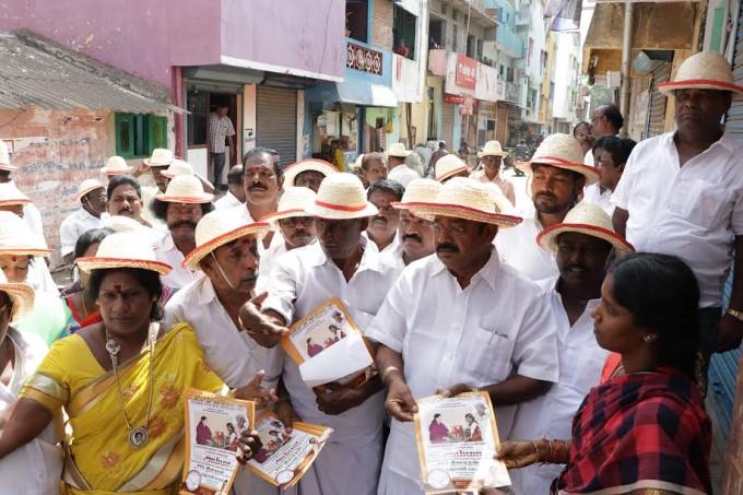 Photo Gallery: RK Nagar Election Campaign