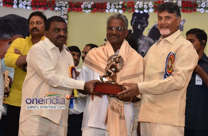 Photo Gallery: AP CM N Chandrababu Naidu Participated May Day Celebrations In Vijayawada