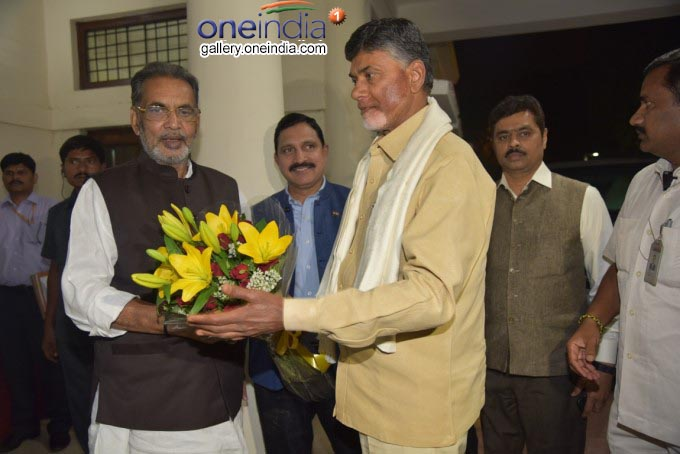Photo Gallery: AP CM Chandrababu Naidu Meets Union Ministers In New Delhi