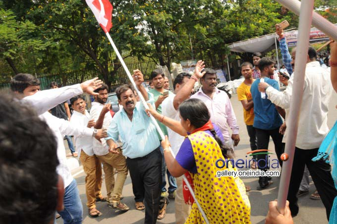 Photo Gallery: Capture Dharna Chowk Protest In Hyderabad