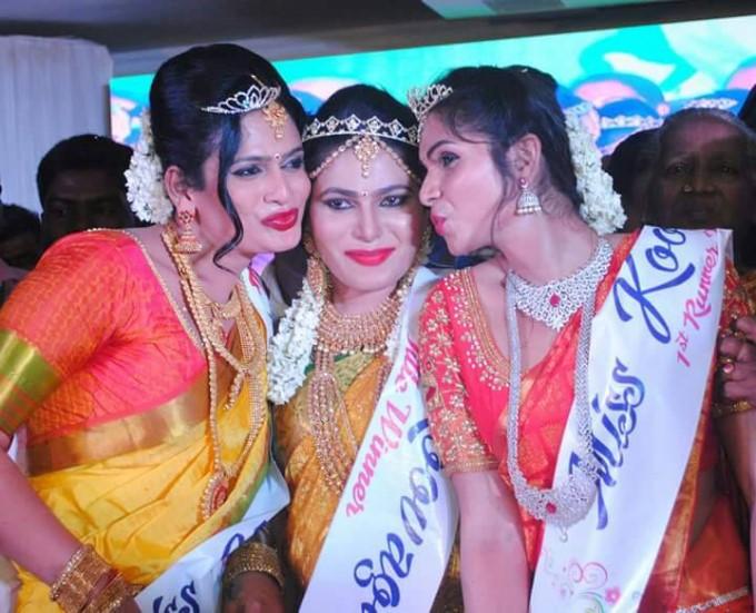 Chennai's Andrea Wins Miss Koovagam 2017