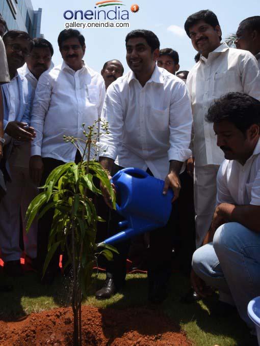 Minister Nara Lokesh Inaugurated Seven IT Companies At Gannavaram