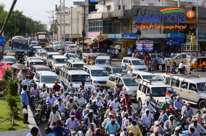 TRS And Congress Clash At Nalgonda