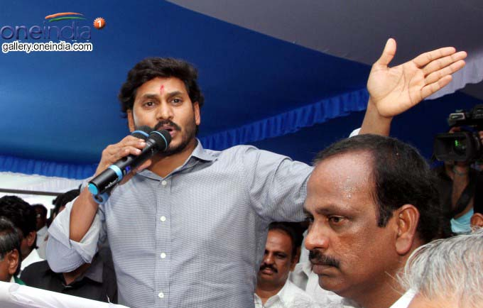 YS Jagan Launches Rythu Deeksha Demanding Justice For Farmers