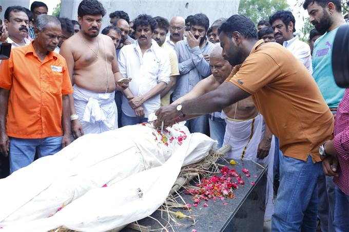 Actor Ravi Teja Brother Bharat Lost Life In Road Accident