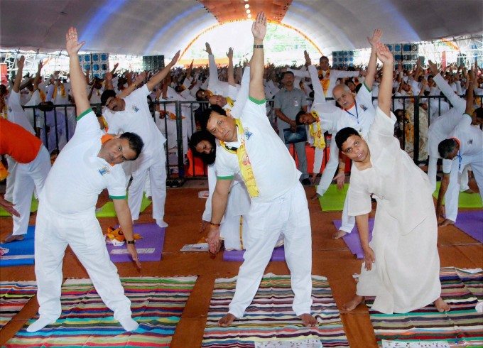 Photo Gallery: International Yoga Day 2017