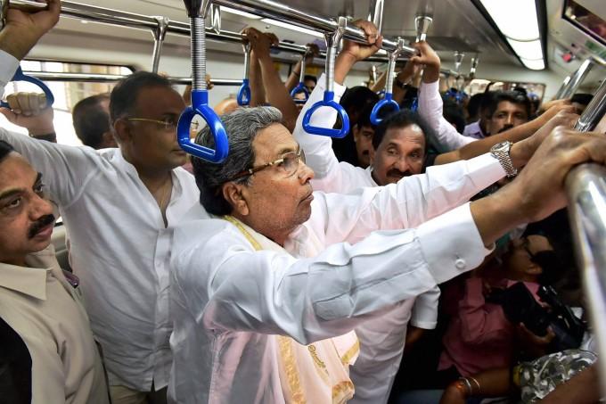 President Pranab Mukherjee Inaugurates Bengaluru Namma Metro