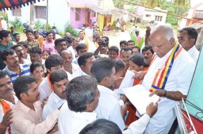 Photo Gallery: BJP Jana Samparka Abhiyana By BS Yeddyurappa
