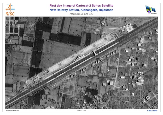 ISRO's Cartosat -2 Series Satellite, Sends First Images