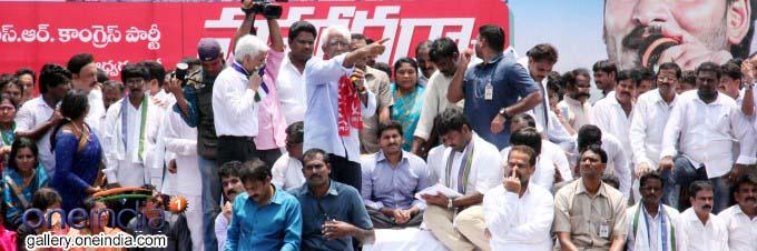 Photo Gallery: YS Jaganmohan Reddy Holds Save Visakha Maha Dharna At Vizag