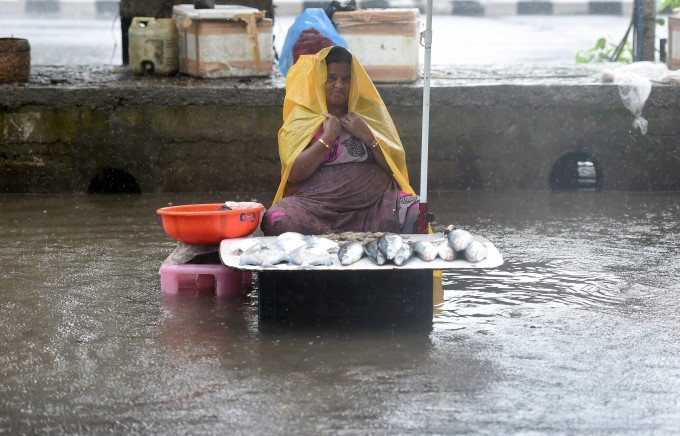 Life In India During Monsoon Rainfall