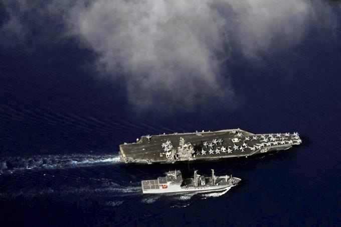 Tri-Nation Malabar Naval Exercise 2017