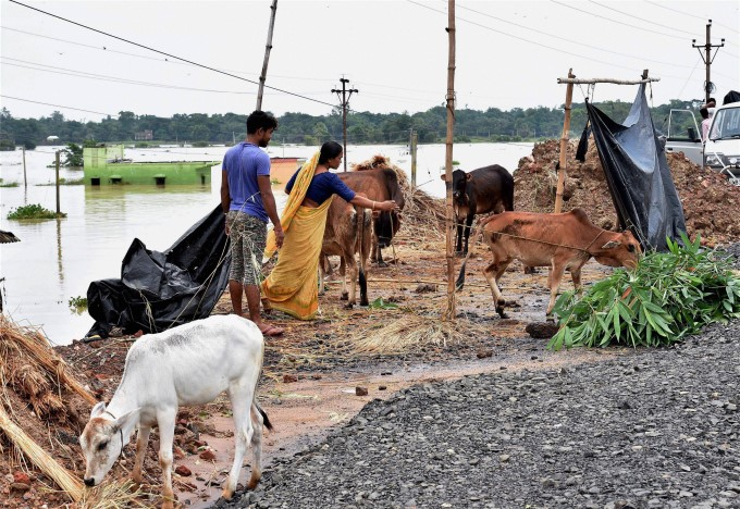 Heavy Rainfall In West Bengal 2017