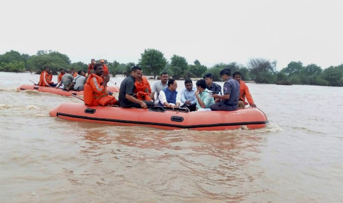 Photo Gallery: Heavy Rainfall In Gujarat 2017