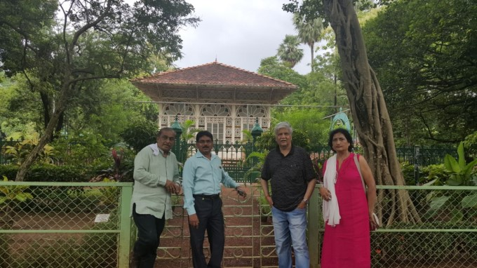 Kannada Music Director Hamsalekha Tour Of Kolkota In 2017