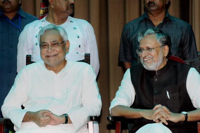 Photo Gallery: Nitish Kumar Sworn-In As Bihar Chief Minister