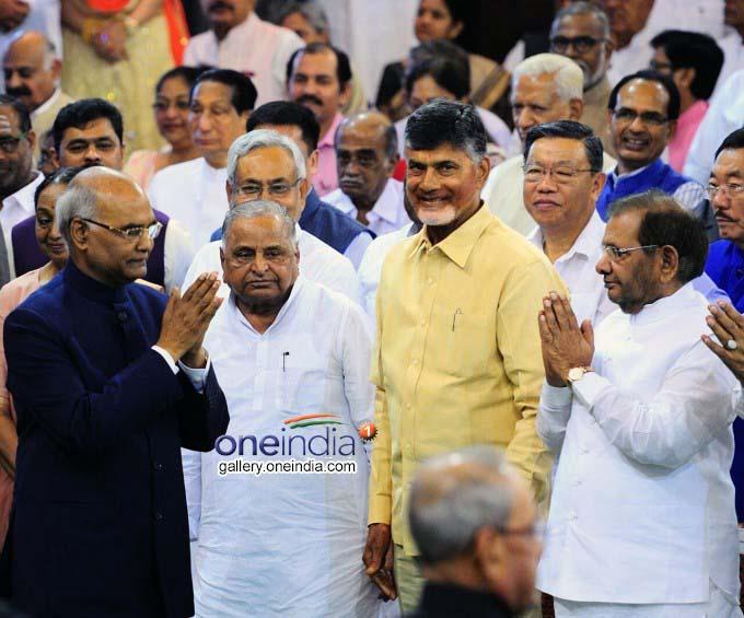 AP CM N Chandrababu Naidu Meets Union Ministers In New Delhi