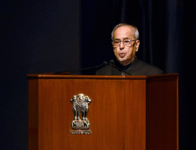 Photo Gallery: PM Releases 4th Volume Of Selected Speeches Of President Pranab Mukherjee