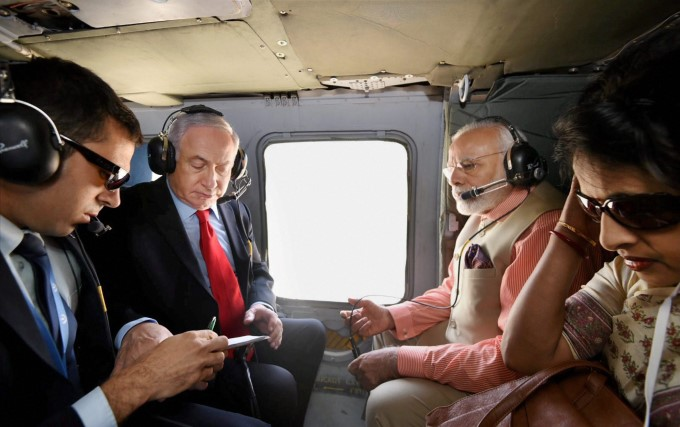 Photo Gallery: Prime Minister Narendra Modi Israel Tour