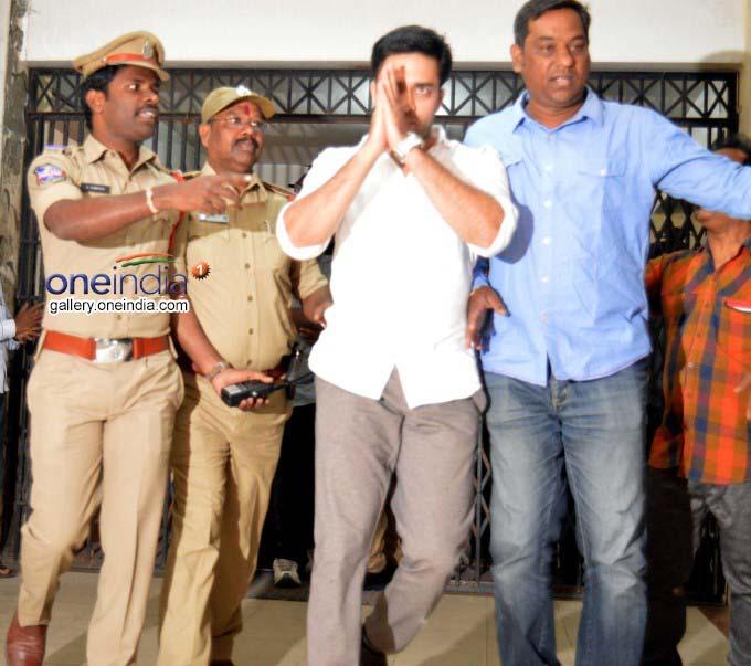 Actor Pallapollu Navdeep Appears Before SIT