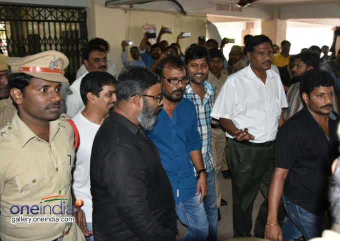 Photo Gallery: Cinematographer Shyam K Naidu Appears Before SIT