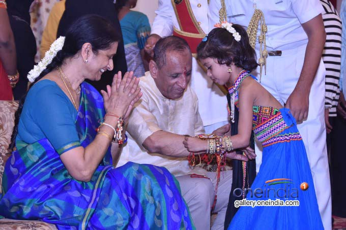 Governor ESL Narasimhan Celebrates Rakhi Purnima At Raj Bhavan In Hyderabad