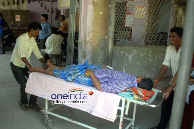 Doctors Protest At Osmania General Hospital In Hyderabad