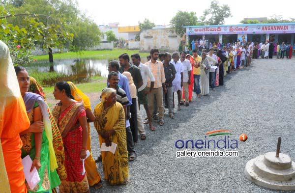 Voting At Nandyal Assembly Election