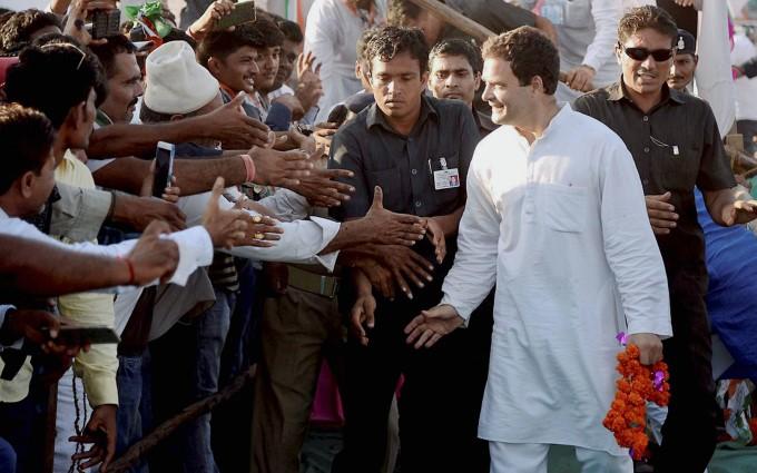 Congress VP Rahul Gandhi Public Rally In Gujarati