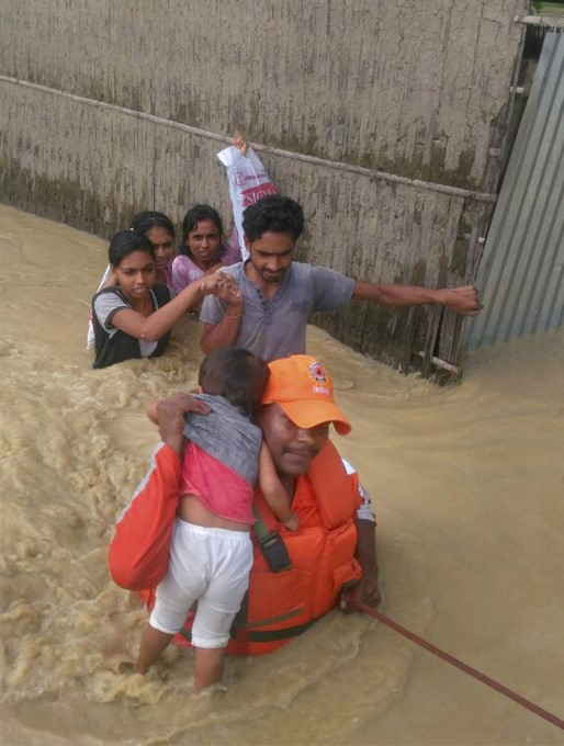 Photo Gallery: Heavy Rainfall In Assam 2017