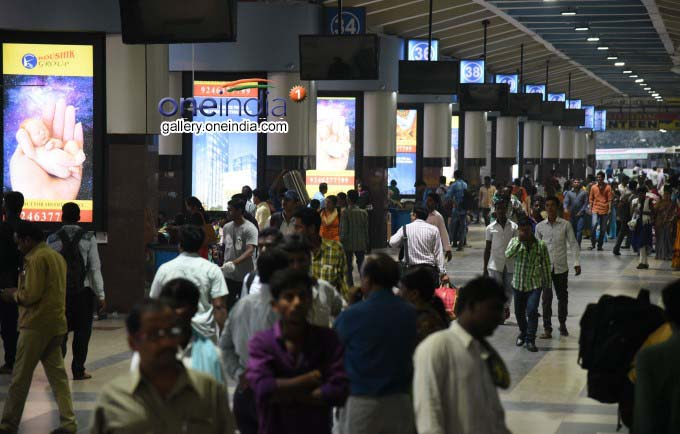 Dasara Rush Starts At Rail, Bus Stations In Hyderabad