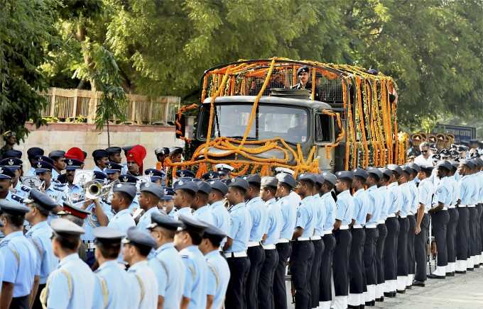 Photo Gallery: Funeral Of Marshal Of The Indian Air Force Arjan Singh